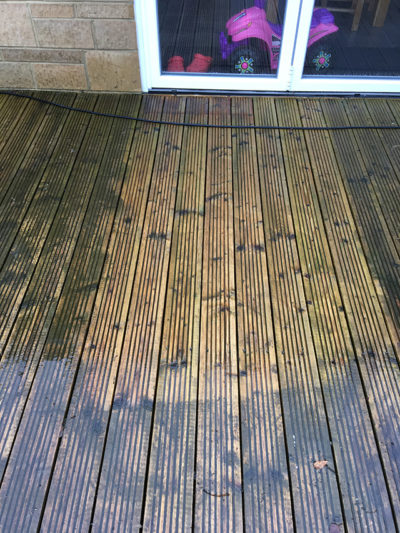 decking cleaning Swindon