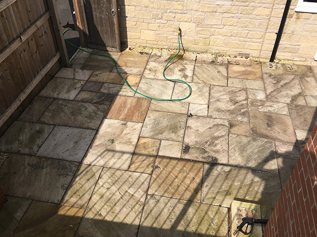 patio cleaning Swindon