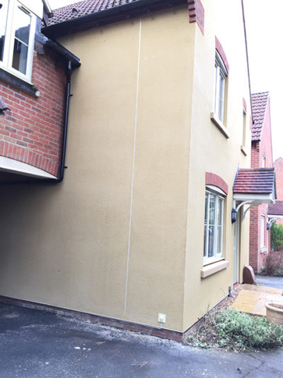 render cleaning Swindon